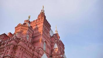 lugar de viaje arquitectura de la iglesia plaza roja kremlin de moscú, rusia foto