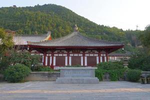 arquitectura china del palacio tang huaqing, xian china foto