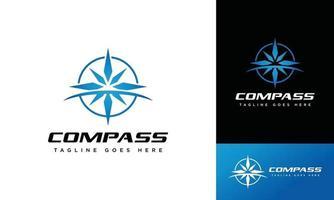 Compass logo design creative, icon, symbol, vector,sport vector
