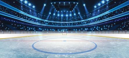 concepto de fondo de arena de hockey sobre hielo vector