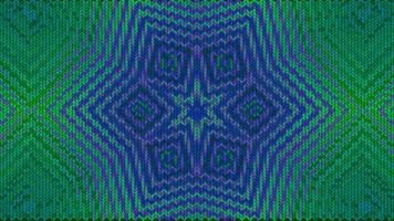 Abstract green and blue Christmas background with knitted texture video