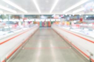 Supermercado de desenfoque abstracto para el fondo foto