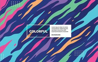 Colorful Curves Background vector