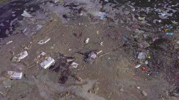 lixo de origem humana no riacho video