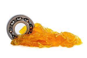 rodamiento de bolas con grasa de litio lubricación de maquinaria foto