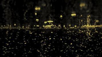 Fondo abstracto de burbujas de soda. burbujas de refresco salpicando video