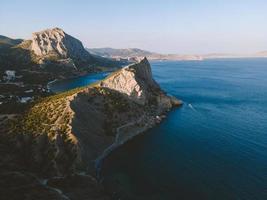 Crimean landscape and seascape photo