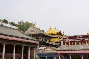 Kumbum Monastery, Ta'er Temple Xining Qinghai China. photo