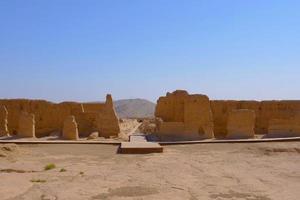 Ruins of Jiaohe Lying in Xinjiang Province China. photo