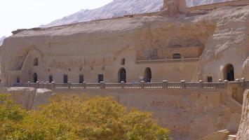 Bezeklik Thousand Buddha Caves in Turpan Xinjiang Province China. photo