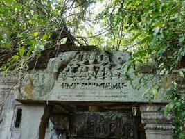 Beng Mealea ancient temple ruines in Sieam Ream, Cambodia photo