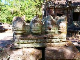 ruin at Banteay Kdei in Siem Reap, Cambodia photo