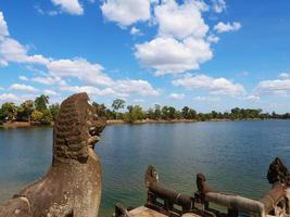 Srah Srang in Angkor Wat complex, reservoir for king, Siem Reap photo