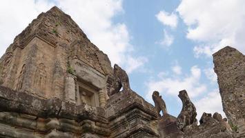 buddhist khmer ruin of Pre Rup, Siem Reap Cambodia. photo