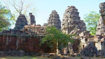 Banteay Kdei, part of the Angkor wat complex in Siem Reap, Cambodia photo