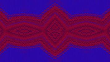 Abstract red and blue Christmas background with knitted texture video