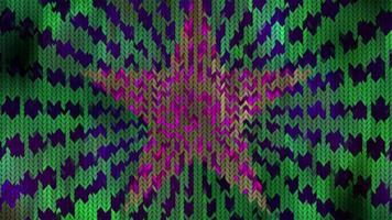 Abstract Christmas background with knitted texture video
