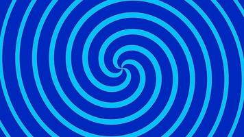 Blue and dark blue twist or spin or spiral or rotate loop motion video