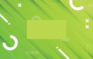 Green Gradient Background vector