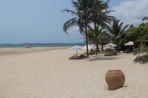 Arossim Beach in Goa India, most beautiful beaches. photo