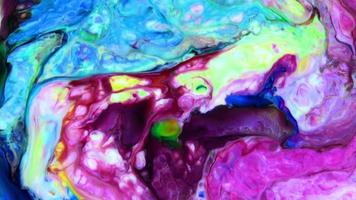 abstracte grunge kleur inkt verf verspreid ontploffing ontploffen achtergrond video