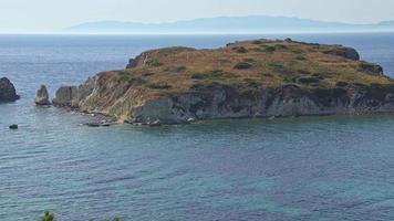 île inhabitée paysage été saison video