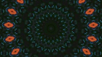 decoração botânica de ilusão. fundo espelhado. transição de conceito video