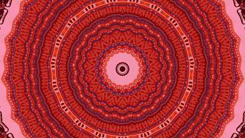 de fond abstrait rouge. Texture fractale d'énergie géométrique 4k. video