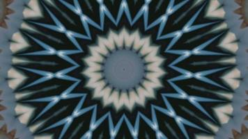 Fluorescent abstract pattern art. Mysterious texture backdrop. video