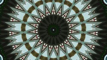 bucle de fondo espiral hipnótico. patrón abstracto. video