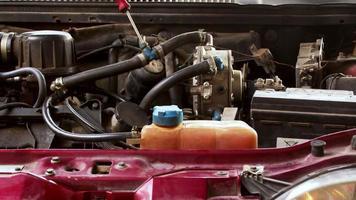 Adjusting Lpg-Powered Car Engine System video