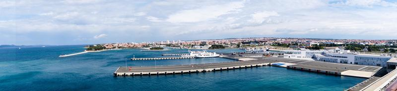 Zadar from the perspective of the cruise terminal photo