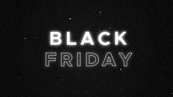 Black friday commercial promo animation video