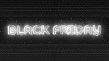 Black friday commercial video