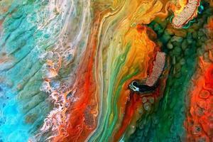 arte de placa de petri de resina epoxi foto