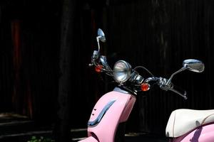 Pink scooter snapshot in Los Angeles photo
