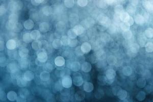 Background blue glowing blurred dots photo