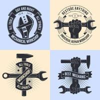 Logo for repair workshop vector