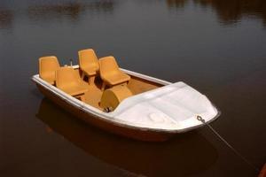Tourist Boat at Lake photo