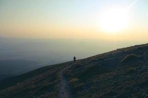 Climbing A Mountain photo