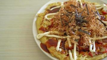 Japanese Traditional Pizza video