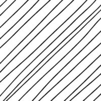 Hand drawn abstract pattern hand drawn lines, strokes. grunge brushes vector
