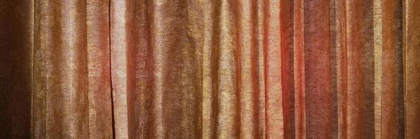 Curtain texture and sunlight from window photo