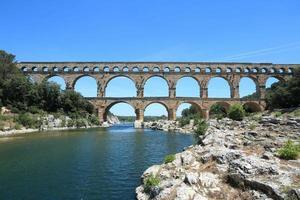 Pont du Gard at South France photo