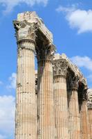 Temple of Olympian Zeus, Athens Greece photo