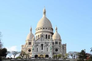 Sacre Coeur Basilica Paris France photo