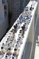 Souvenir shop on Santorini, Greece photo