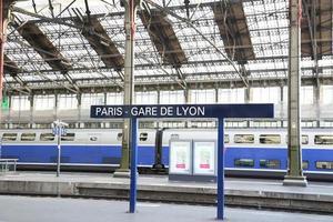 Paris, Gare de Lyon photo
