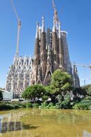 Sagrada Familia, designed by Antoni Gaudi, Barcelona Spain photo