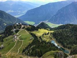Alpine Pond around Rofan Mountains in Maurach photo